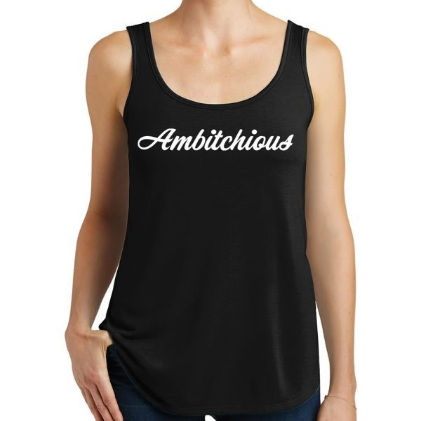 Ambitchious Tanks Top Black